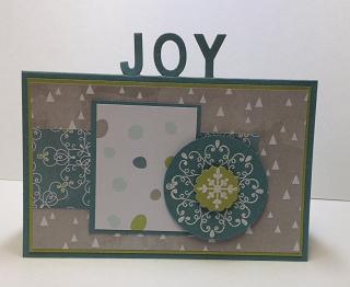 Joy Standing Letters