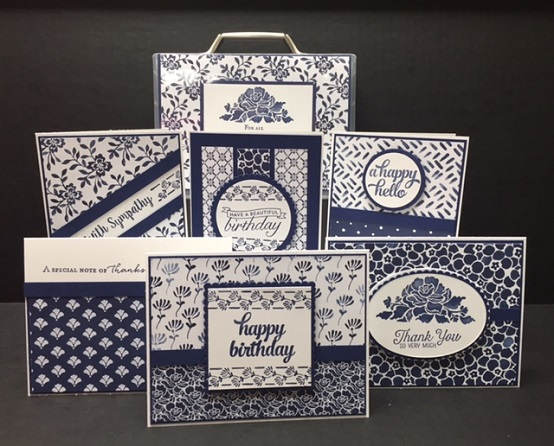 Floral Boutique Card Box