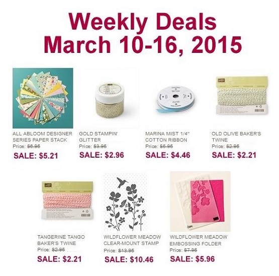 Weekly Deals March 10 16