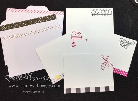 Recipe Tin Tabs & Card